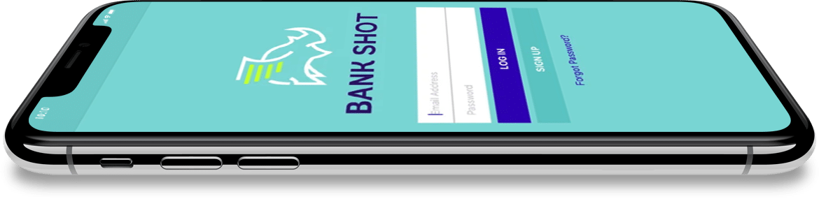 Bank Shot Mobile App